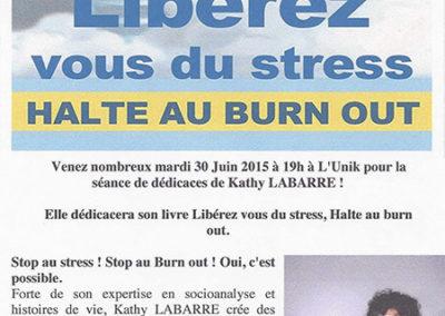 Libérez vous du stress HALTE AU BURN OUT